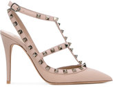 Valentino Garavani Valentino 'Rockstud' pumps - women - Calf Leather/Leather/metal - 35
