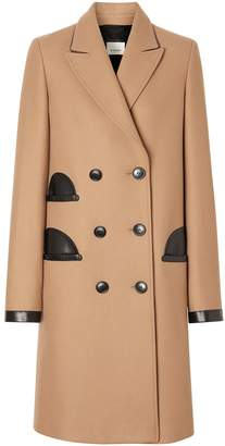 Burberry double-breasted tailored coat