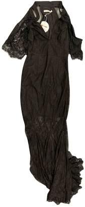 La Maison Talulah Black Lace Dress for Women