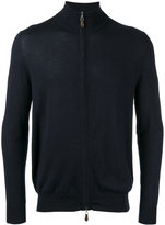 N.Peal roll neck jacket - men - Cashmere/Silk - S