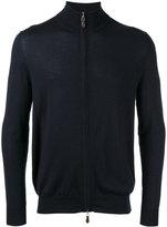 N.Peal roll neck jacket - men - Silk/Cashmere - M