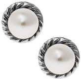 Girl's Mignonette Sterling Silver & Cultured Pearl Earrings