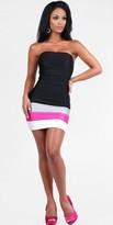 Atria Colorblock Short Homecoming Dresses