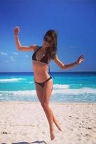 Tori Praver Swimwear Kalani Bottom in Black