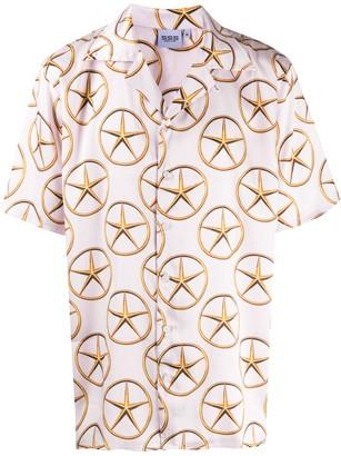 SSS World Corp Star Medallion-Print Shirt