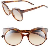 Marc Jacobs Women's 53Mm Oversized Sunglasses - Havana
