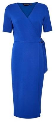 Dorothy Perkins Womens Cobalt Blue Short Sleeve D