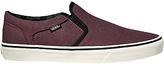 Vans Asher Slip-on Shoes, Port