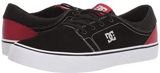 DC Trase SD (Black/Red/Grey) Men's Skate Shoes