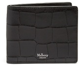 Mulberry Crocodile-effect Embossed-leather Wallet