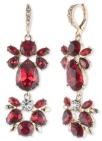 Givenchy Women's Drama Crystal Drop Earrings