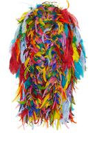 Dolce & Gabbana Multicolor Feather Coat