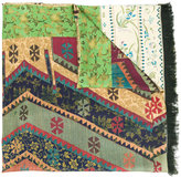 Pierre Louis Mascia Pierre-Louis Mascia contrast pattern scarf