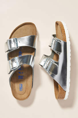 Birkenstock Metallic Arizona Sandals