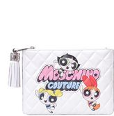 Moschino Power Puff Clutch