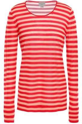 Jason Wu Grey Striped Wool Top