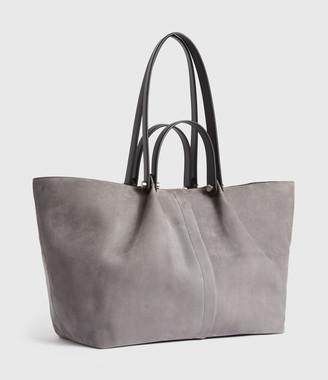AllSaints Allington Suede East West Tote Bag