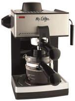 Mr. Coffee 4-Cup Steam Espresso Machine