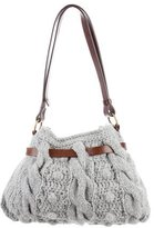Brunello Cucinelli Cable Knit Bucket Bag