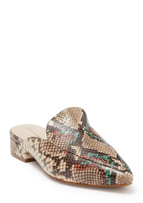 Cole Haan Piper Animal Print Mule