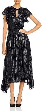 Rebecca Taylor Short Sleeve Safari Dress