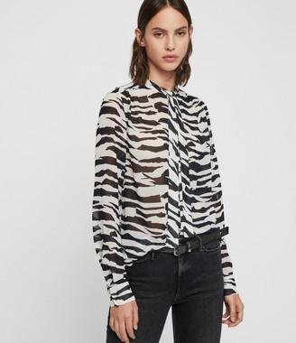 AllSaints Toni Zephyr Shirt