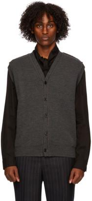 Comme des Garçons Homme Deux Grey Lochaven Of Scotland Edition Vest