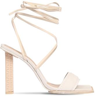Jacquemus 100mm Adour Hautes Leather Sandals