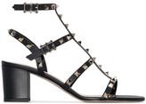 Valentino Garavani Rockstud strap detail sandals