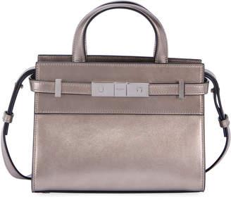 Saint Laurent Manhattan Mini Smooth Leather Tote Bag