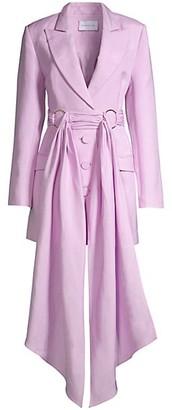 Significant Other Dahlia Draped Blazer Dress