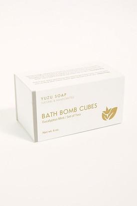 Free People Yuzu Bath Bomb Cube Set by Yuzu Soap at