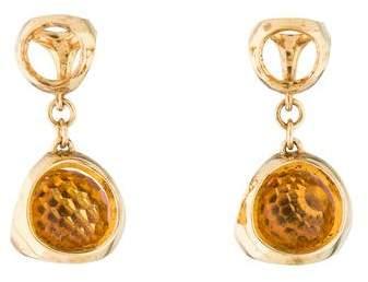 Di Modolo Citrine Icona Drop Earrings