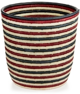 Rwanda Rwanda Market Raffia and Sweet Grass Round Basket