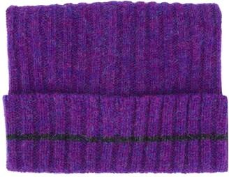 Marni Ribbed Knit Beanie