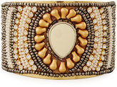 Nakamol Beaded Statement Cuff Bracelet