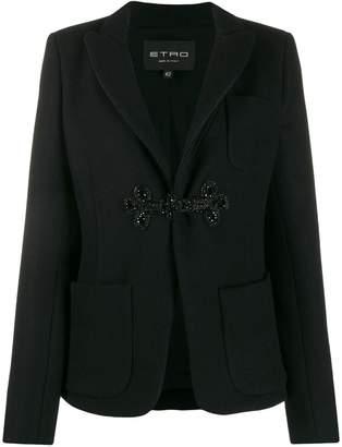 Etro beaded toggle jacket