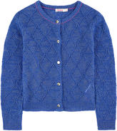 Billieblush Openwork cardigan with lurex