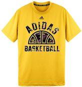 adidas Boys 8-20 Climalite Half Basketball Tee