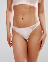 Wolfwhistle Wolf & Whistle Blush Thong