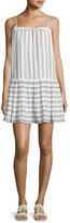 Soft Joie Ante Sleeveless Striped Mini Dress, White