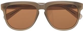 Brioni Oversized Tinted Sunglasses