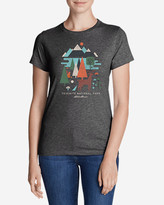 Eddie Bauer Women's Graphic T-Shirt - Yosemite Geo