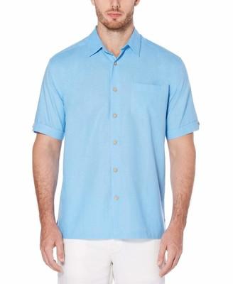 Cubavera Linen Cotton Chest Pocket Shirt