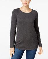Karen Scott Crew-Neck Sweater, Only at Macy's