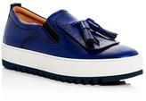 Salvatore Ferragamo Lucca Slip On Platform Sneakers