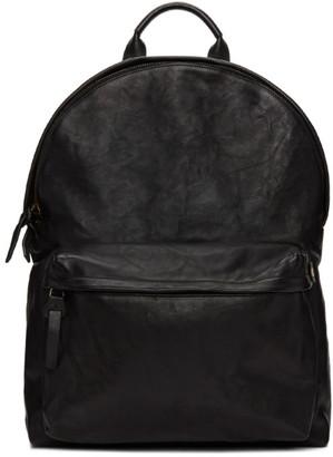 Officine Creative Black OC Backpack