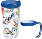 Tervis Watercolor Songbirds 16-Oz. Tumbler & Handle Set