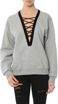 Singer22 Exclusive Criss Cross Sweatshirt