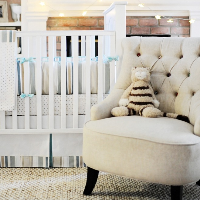 Abbey Road Baby Three Piece Baby Bedding